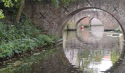De Binnendieze in de binnenstad van 's-Hertogenbosch.