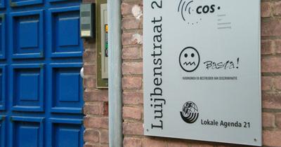 de voordeur aan de Luijbenstraat 21 in 's-Hertogenbosch
