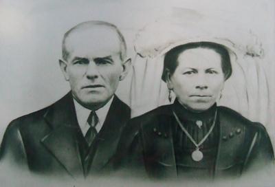 De ouders van mijn opa, Jan van Zeeland uit Heesch.
