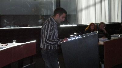 Mahmut Erciyas van de SP-fractie.