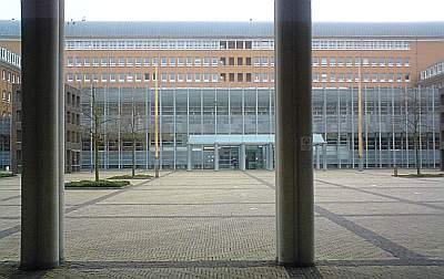 De rechtbank in het Bossche Paleiskwartier.