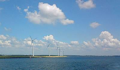 Krammer Volkerak - windturbine