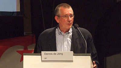 Dennis de Jong (EU-lijsttrekker SP)